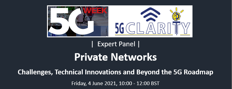 5G-CLARITY Expert Panel in 5G Week